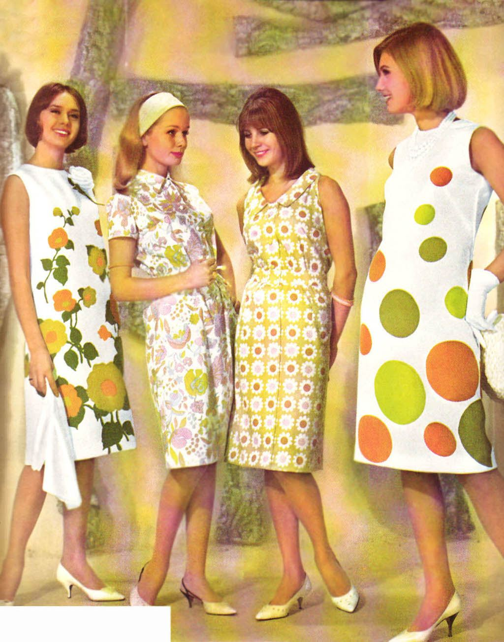 60s Women Fashion