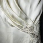 Edith's wedding dress detail